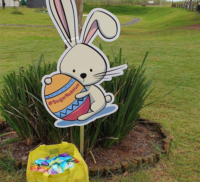 Sugar Rush Park Easter Egg Hunt in pics