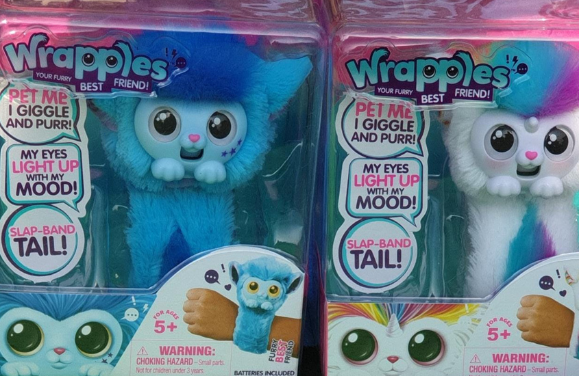 Wrapples – the new furry, interactive best friends!